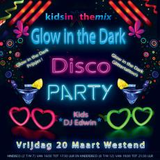 Glow in the Dark kinderdisco Westend Amstelveen